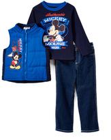 Children's Apparel Network Mickey Mouse 'Award Winner' Vest Set - Boys