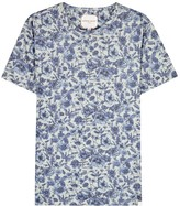 Derek Rose Henry Floral-print Cotton T-shirt