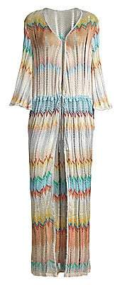 Missoni Mare Women's Long Bell Sleeve Coverup Caftan