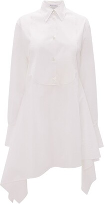 J.W.Anderson Asymmetric Bib Shirt Dress