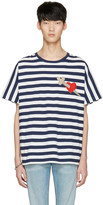 Gucci Navy Heart & Arrow T-Shirt