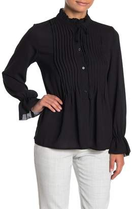 Bobeau Ruby Romantic Blouse (Regular & Petite)