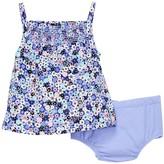 Isaac Mizrahi Ditsy Floral Sundress & Bloomer Set (Baby Girls 12-24M)