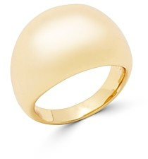 Gorjana Farrah 18K Gold-Plated Dome Statement Ring