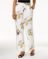 Thalia Sodi Printed Wide-Leg Pants, Only at Macy's