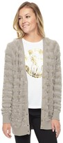 Juicy Couture Outlet - MULTI TEXTURE TONAL STRIPE CARDIGAN