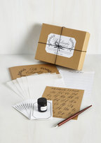 Chronicle Books See You on the Script Side Calligraphy Kit