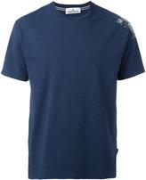 Stone Island logo print T-shirt - men - Cotton - M