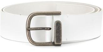 Ann Demeulemeester D-Ring Buckle Belt