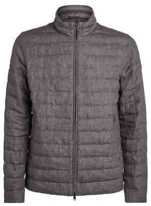 Herno Quilted Linen Jacket