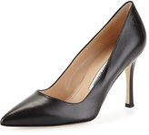 Manolo Blahnik BB Leather 90mm Pump