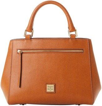 Dooney & Bourke Saffiano Small Zip Satchel