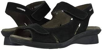 Mephisto Perry (Black Bucksoft) Women's Sandals