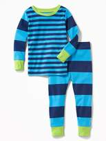 Old Navy Striped Sleep Set for Toddler & Baby