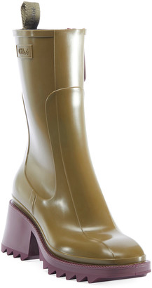 Chloé Betty Rubber Rain Booties