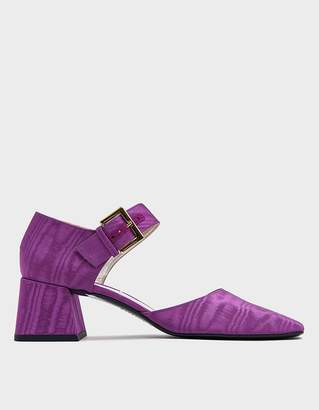 Suzanne Rae Thick Strap Maryjane in Violet