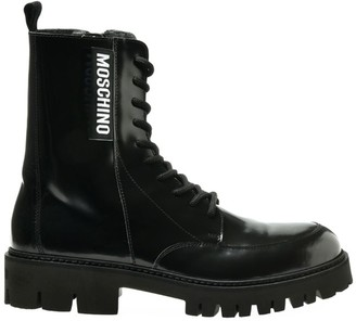 Moschino Lug-Sole Ankle Boots