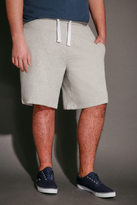 Yours Clothing BadRhino Grey Marl Sweat Shorts