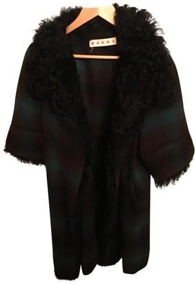 Marni Green Wool Coat for Women