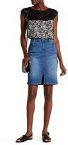 KUT from the Kloth Rosie Denim Pencil Skirt