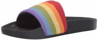 Chooka Pride Slide Sandal Rainbow 6