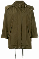 Woolrich loose-fit military jacket