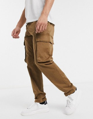 French Connection slim fit cargo trousers