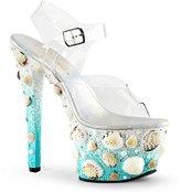 Pleaser USA Women's Sky308mermd/c/Lblg Platform Sandal