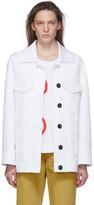 Marni White Two Pocket Jacket