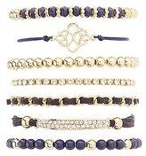 Charlotte Russe Mixed Embellished Bracelets - 7 Pack