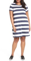 MICHAEL Michael Kors Plus Size Women's Rugby Stripe T-Shirt Dress