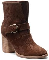 """Isola Lavoy"""" Moto Buckled Suede Bootie"""