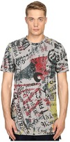 Vivienne Westwood Anglomania Newspaper Rubbish T-Shirt Men's T Shirt