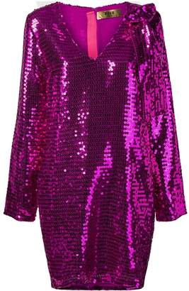 MSGM sequinned dress