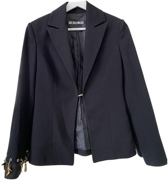Dirk Bikkembergs Black Cotton Jacket for Women