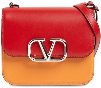Valentino Vsling Small Color Block Leather Bag
