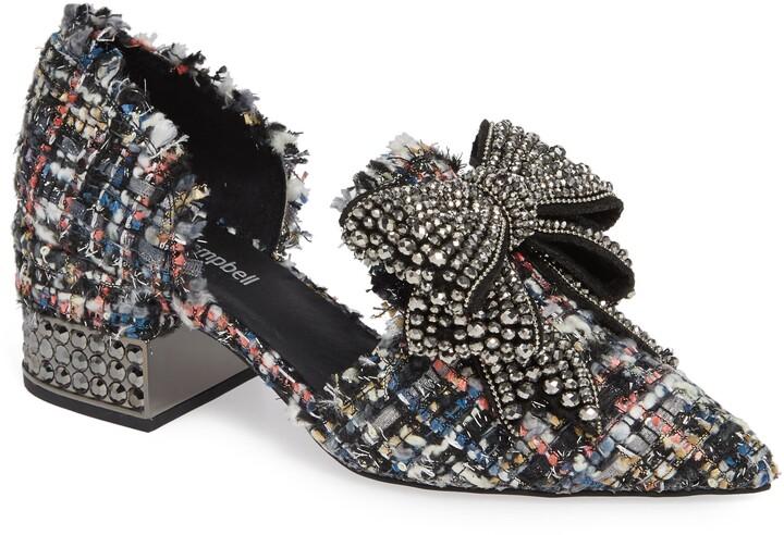 Jeffrey Campbell Valenti Embellished Bow Loafer