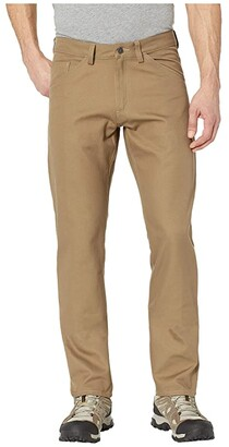 Fjallraven Greenland Canvas Jeans in Dark Sand (Dark Sand) Men's Jeans