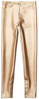 Appaman Adaptive Kids Leggings (Little Kids/Big Kids) (Gold) Girl's Casual Pants