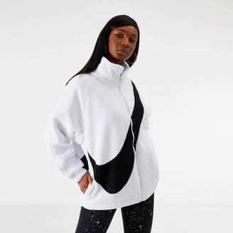 Nike Women's Sportswear Swoosh Sherpa Reversible Jacket