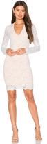 Nightcap Clothing Wisteria Lace Deep V Dress