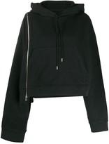 Maison Margiela zip-detail hoodie