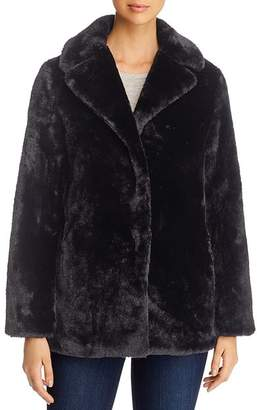 T Tahari Faux Fur Teddy Coat