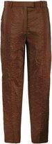 Nina Ricci cropped straight trousers - women - Silk/Polyamide/Viscose - 42