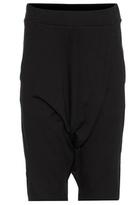 Y-3 Cotton Drop Crotch Shorts