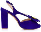Chie Mihara floral-appliqued sandals