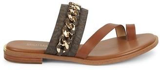MICHAEL Michael Kors Bergen Chain Detail Sandals