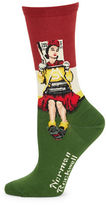 Hot Sox Norman Rockwell Socks
