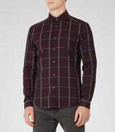 Reiss Pastrana Window Check Shirt