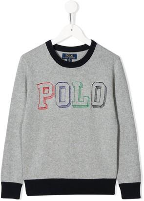 Ralph Lauren Kids Logo Print Sweatshirt
